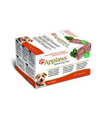Applaws Pate Fresh Selection Turkey Beef Ocean fish / Консервы Эплоус для собак Ассорти Индейка Говядина Океаническая рыба (цена за упаковку)