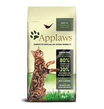 Applaws Adult Grain free Chicken & Extra Lamb / Сухой Беззерновой корм Эплоус для кошек Курица Ягненок