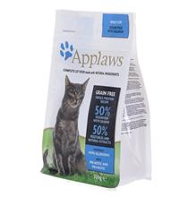 Applaws Adult Grain free Ocean fish & Salmon / Сухой Беззерновой корм Эплоус для взрослых кошек Океаническая рыба