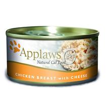 Applaws Chicken Breast & Cheese / Консервы Эплоус для кошек Куриная грудка Сыр (цена за упаковку)