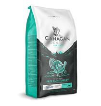 Canagan GF Dental Free Run Turkey / Сухой Беззерновой корм Канаган для кошек всех возрастов для Ухода за полостью рта Индейка