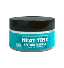 Meat Time / Лакомство Мит Тайм для собак Крутоны говяжьи Хрустящие галеты
