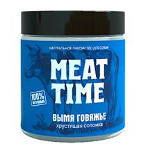 Meat Time / Лакомство Мит Тайм для собак Вымя говяжье Хрустящая соломка