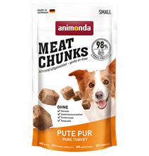 Animonda Meat Chunks Small Pure Turkey / Лакомство Анимонда для взрослых собак Мелких пород с Индейкой