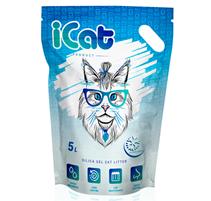 iCat Silica Gel Snow Flakes / Наполнитель АйКэт для кошачьего туалета Силикагелевый