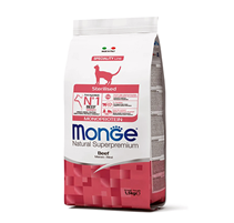 Monge Cat Monoprotein Sterilised Beef / Сухой корм Монж Монопротеиновый для Стерилизованных кошек Говядина