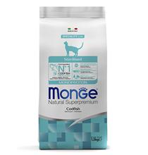 Monge Cat Monoprotein Sterilised Merluzzo / Сухой корм Монж Монопротеиновый для Стерилизованных кошек Треска