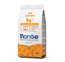 Monge Cat Speciality Light Turkey / Сухой корм Монж для взрослых кошек Низкокалорийный Индейка