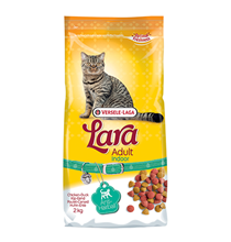 LARA Cat Adult Indoor Anti-Hairball Chicken Duck / Сухой корм Лара для Домашних кошек Против волосяных комочков Цыпленок Утка
