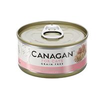 Canagan GF Chicken with Ham / Полнорационные Беззерновые консервы Канаган для кошек Цыпленок с Ветчиной (цена за упаковку)