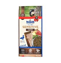 Bosch Adult Ente & Reis / Сухой корм Бош Эдалт для взрослых собак всех пород Утка с Рисом