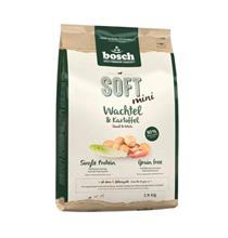 Bosch Soft Mini Wachtel & Kartoffel / Полувлажный Монопротеиновый Беззерновой корм Бош для собак Мелких пород Перепелка Картофель