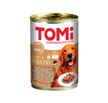 TOMi 3 kinds of Poultry / Консервы Томи для собак 3 вида Птицы (цена за упаковку)