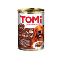 TOMi 5 sorts of Meat / Консервы Томи для собак 5 видов Мяса (цена за упаковку)