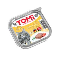 TOMi Poultry & liver / Паучи Томи для кошек Птица с Печенью (цена за упаковку)