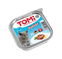 TOMi Junior Chicken / Паштет Томи для Котят с Курицей (цена за упаковку)
