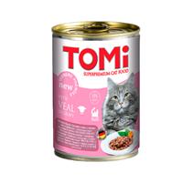 TOMi Veal in gravy / Консервы Томи для кошек Телятина кусочки в соусе (цена за упаковку)
