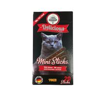 TOMi Delicious Mini Sticks Salami / Лакомство Томи для кошек Мини палочки с Салями