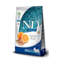 Farmina N&D Ocean Line Adult Mini Herring & Orange Grain free / Сухой Беззерновой корм Фармина для взрослых собак Мелких пород Сельдь с Апельсином