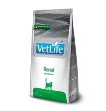 Farmina Vet Life Renal / Лечебный корм Фармина для кошек при Почечной недостаточности, вспомогательное средство в терапии Сердечной недостаточности