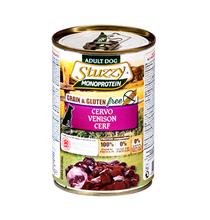 Stuzzy Monoprotein Grain & Gluten free Cervo / Консервы Штуззи Монопротеиновые для собак Оленина (цена за упаковку)