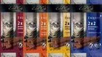 Заказать Edel Cat / Деликатесные Колбаски-мини для кошек 4 сорта Утка и Сыр; Форель и Салями; Телятини и Ливерная колбаса; Говядина и Салями. 1х16 по цене 180 руб