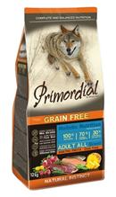 Primordial Adult Grain Free Holistic / Сухой корм Примордиал Беззерновой для собак Форель Утка