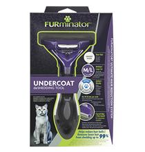 FURminator M / L Medium/Large Cat Short Hair / Фурминатор для кошек Средних и Крупных пород с Короткой шерстью