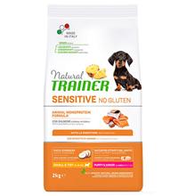 Trainer Natural Sensitive No Gluten Small Puppy Junior Salmon / Сухой Безглютеновый корм Трейнер для Щенков и Юниоров Мелких пород Лосось