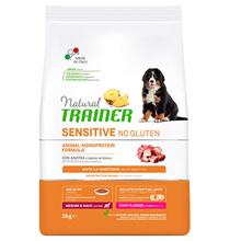 Trainer Natural Sensitive No Gluten Medium / Maxi Puppy Junior / Сухой Безглютеновый корм Трейнер для Щенков и Юниоров Средних и Крупных пород Утка