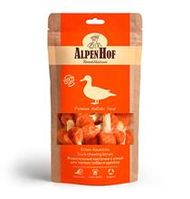 AlpenHof Duck chewing bones / Лакомство Альпенхоф для Щенков и Мелких собак Жевательные косточки с Уткой
