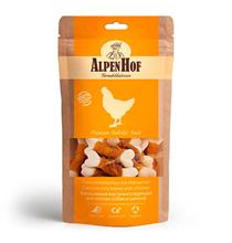 AlpenHof Calcium mini bones with chicken / Лакомство Альпенхоф для Щенков и Мелких собак Кальциевые косточки с Курицей