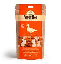 AlpenHof Calcium mini bones with duck / Лакомство Альпенхоф для Щенков и Мелких собак с Кальциевые косточки Уткой