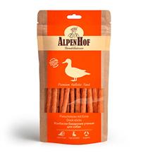 AlpenHof Duck sticks / Лакомство Альпенхоф для Щенков и Мелких собак Колбаски Баварские Утиные