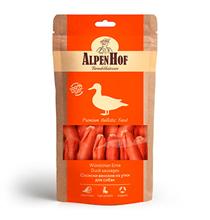 AlpenHof Duck sausages / Лакомство Альпенхоф для Средних и Крупных собак Сосиски венские из Утки