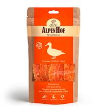 AlpenHof Soft duck jerky / Лакомство Альпенхоф для Средних и Крупных собак Грудка Утиная нежная
