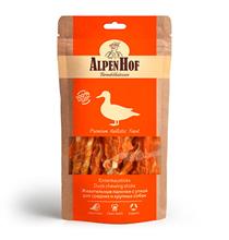 AlpenHof Duck chewing stics / Лакомство Альпенхоф для Средних и Крупных собак Жевательные палочки с Уткой