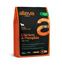 Alleva Natural Puppy Medium Chicken Pumpkin / Сухой корм Аллева для Щенков Средних пород Курица Тыква