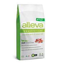 Alleva Equilibrium Adult Medium Maxi Sensitive Lamb&Ocean Fish / Сухой корм Аллева для собак Средних и Крупных пород Ягненок Океаническая рыба