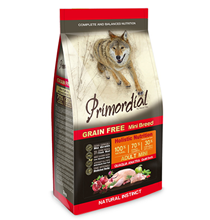 Primordial Adult Mini Grain free Holistic Quail Duck / Сухой корм Примордиал Беззерновой для собак Мелких пород Перепелка Утка