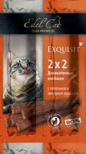 Edel Cat / Деликатесные Колбаски-мини для кошек Телятина и Ливерная колбаса 1х4