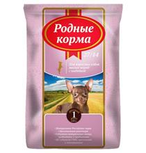 Родные Корма 27-14 / Сухой корм для взрослых собак Мелких пород с Индейкой