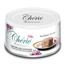 Pettric Kitten Cherie Complete & Balanced diet Tuna mousse / Беззерновые консервы Петрик Мусс для Котят Тунец (цена за упаковку)