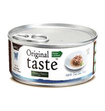 Pettric Original Taste 100% Tuna Loin Flakes in Sause / Беззерновые консервы Петрик для кошек Тунец в соусе (цена за упаковку)
