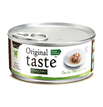 Pettric Original Taste Tuna Loin Flakes & Whole Shrimp in Sauce / Беззерновые консервы Петрик для кошек Тунец с креветками в соусе (цена за упаковку)