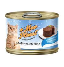 Pettric Mew Planet 100% Natural Tuna Recipe / Беззерновые консервы Петрик Паштет для кошек свежий Тунец (цена за упаковку)