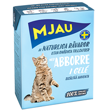 Mjau chunks in jelly with Perch / Консервы Мяу для кошек Мясные кусочки в желе с Окунем (цена за упаковку)