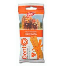 Titbit Biff Dent / Лакомство Титбит для собак Мелких пород Жевательный снек со вкусом Сыра