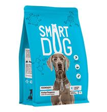 Smart Dog / Сухой корм Смарт Дог для взрослых собак с Лососем и рисом