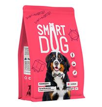 Smart Dog / Сухой корм Смарт Дог для взрослых собак Крупных пород с Ягненком